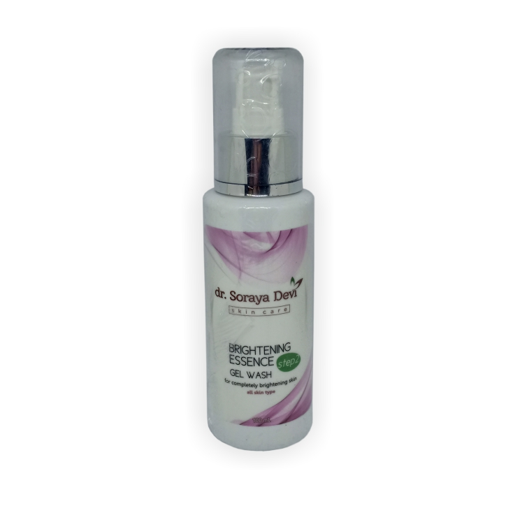 dr. Soraya Devi Brightening Gel Wash Step 2
