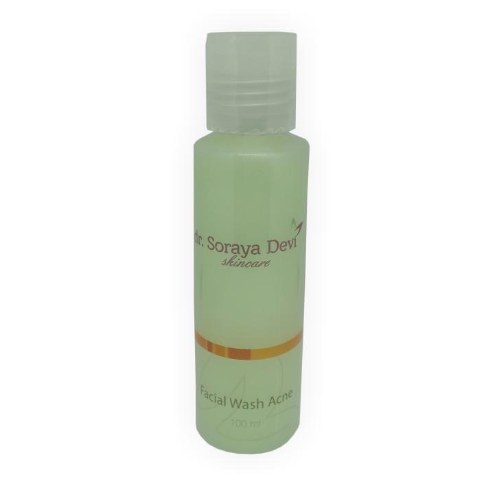 dr. Soraya Devi Facial Wash Acne