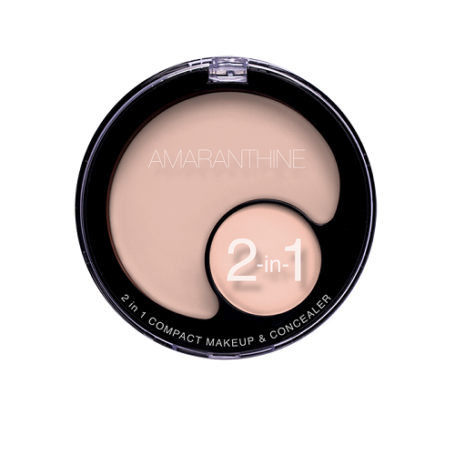 2 in 1 Compact Make Up Concealer Light Nude