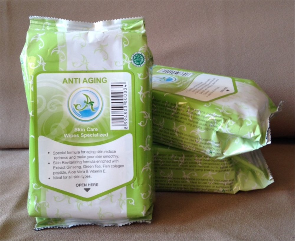Anti Aging  Skin Care Wipes Specialized