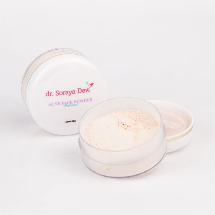 dr. Soraya Devi Acne Face Powder Natural