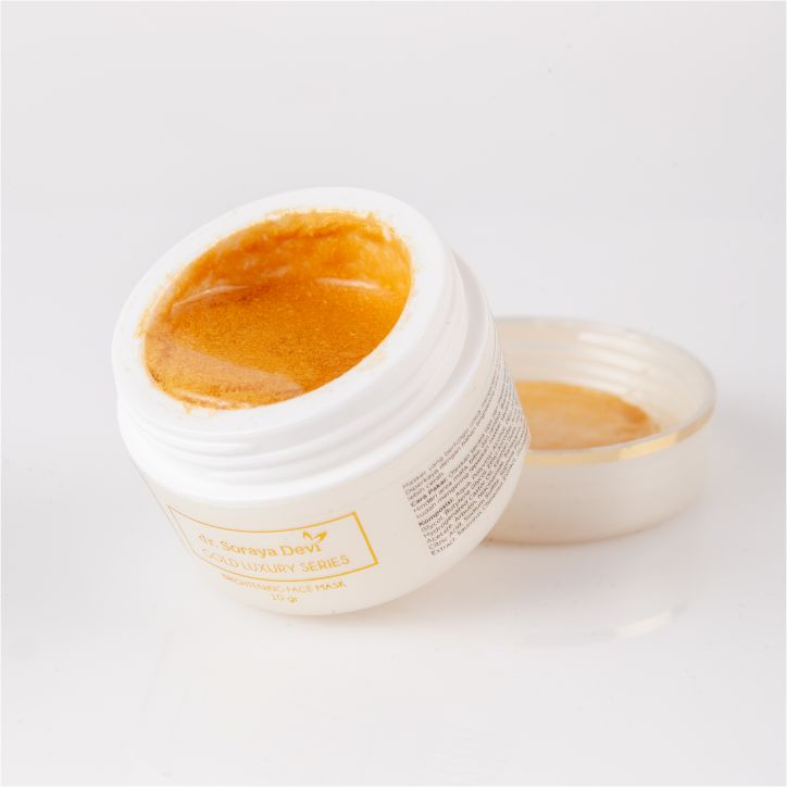 dr. Soraya Devi Gold Luxury Series Brightening Face Mask