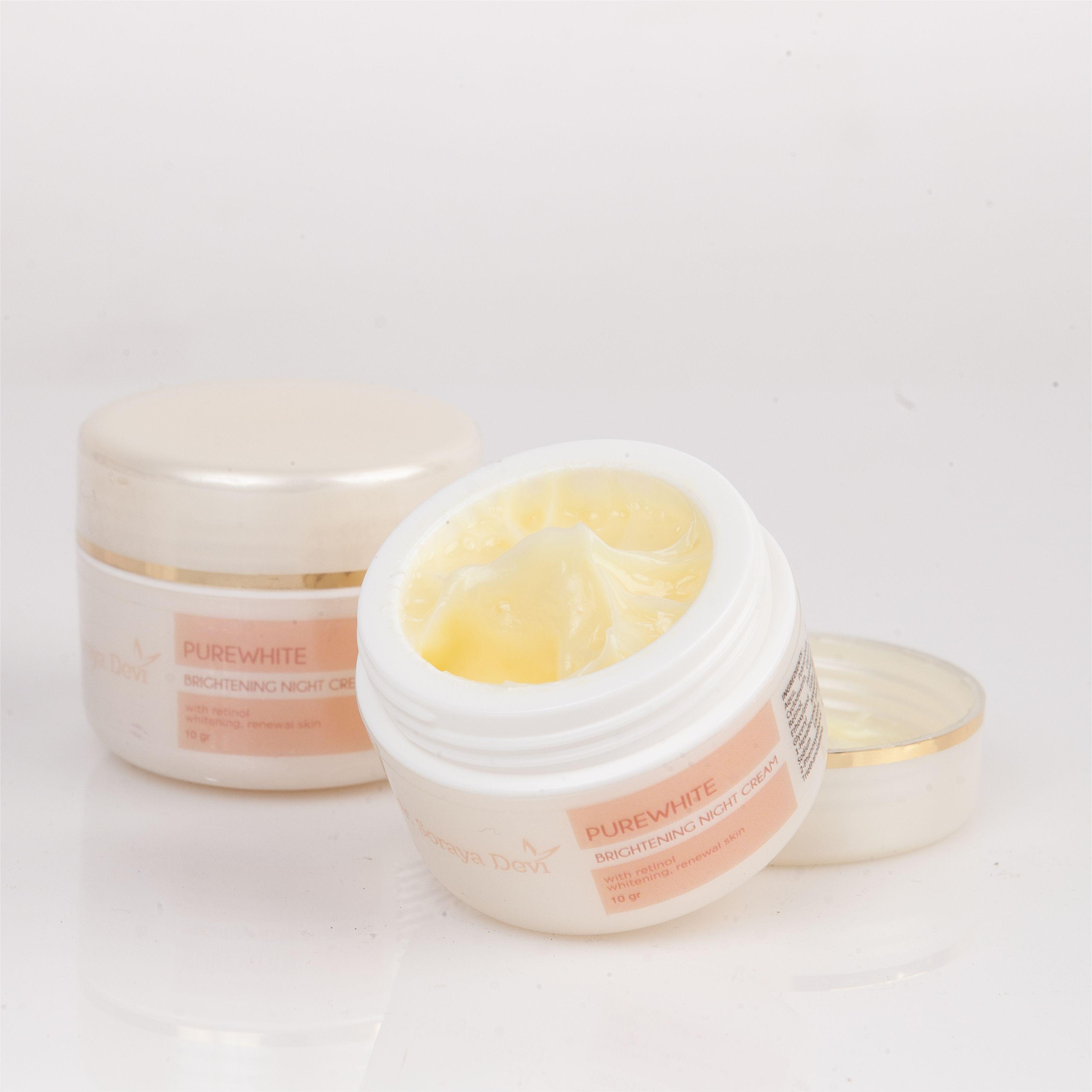 dr. Soraya Devi Purewhite Brightening Night Cream